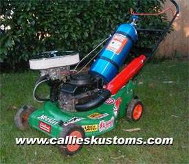Super Lawn-Mower with NOS