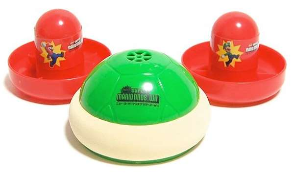 Super Mario Bros Turtle Air Hockey