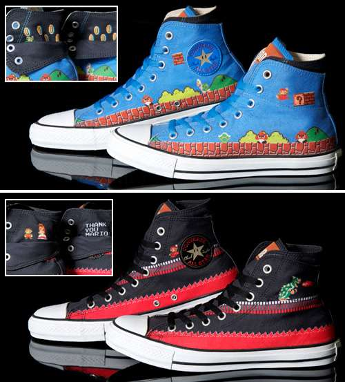 Geeky Gaming Sneakers (UPDATE)