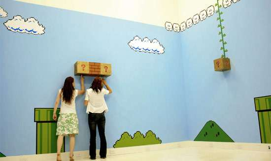 Super Mario Room by Antoinette J Citizen