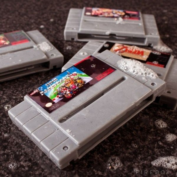 Super Nintendo Gamer Soap Cartridges