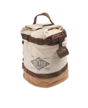 Rustic Vintage-Inspired Rucksacks
