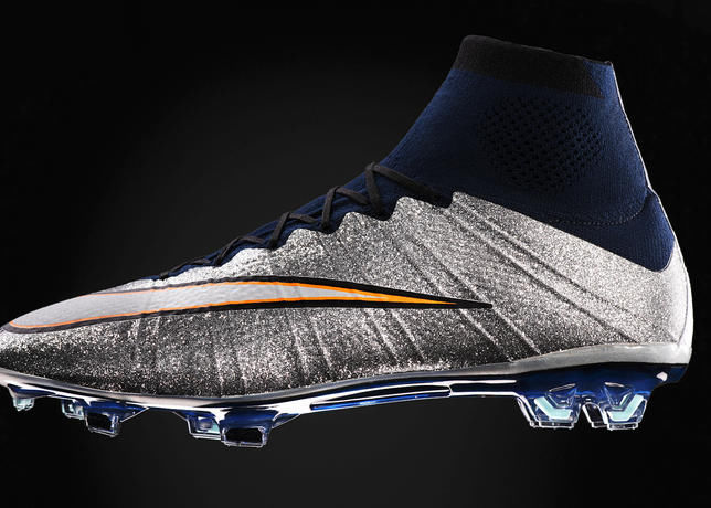 Sparkling Soccer Shoes
