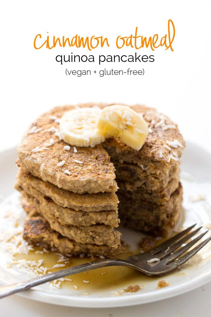 Vegan Superfood Pancakes