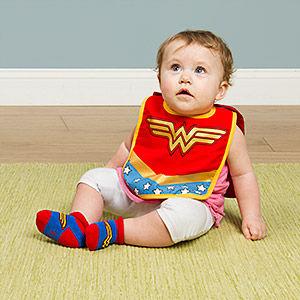 Superhero Baby Bibs
