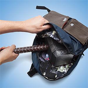 Reversible Superhero Backpacks