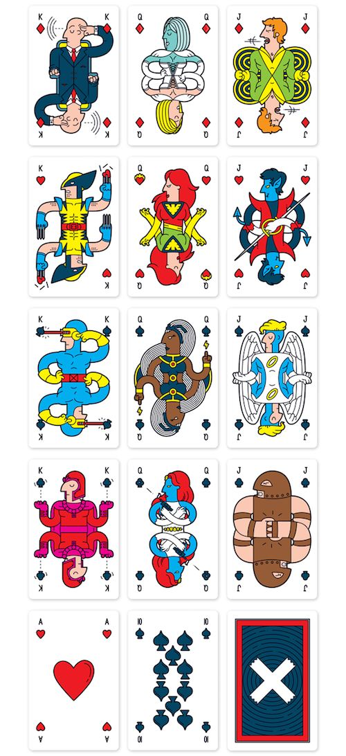 Superhero Card Decks