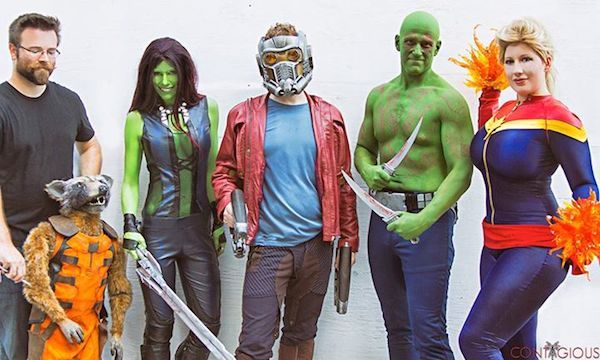 Collaborative Superhero Cosplays