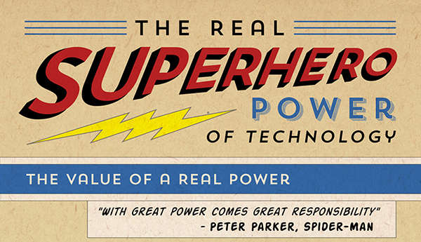 Realistic Super Power Infographics