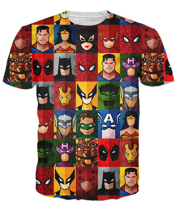 Portraiture Superhero Shirts