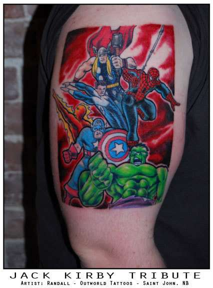 Comic Book Ink