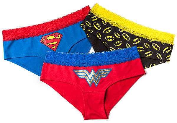 Superheroine Lace Boyshorts