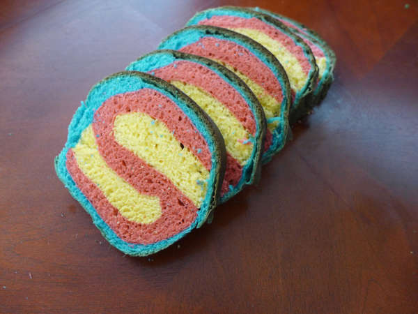 Superman Bread