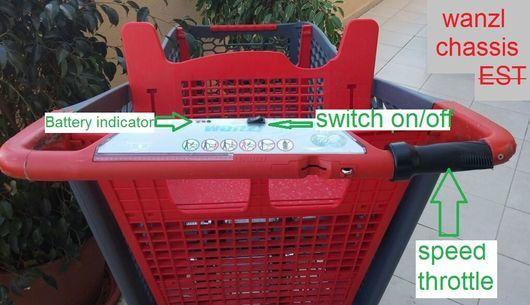 Electrical Supermarket Trolleys