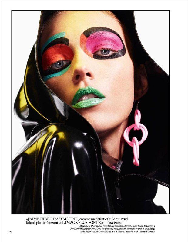 Whimsical Makeup Portraits