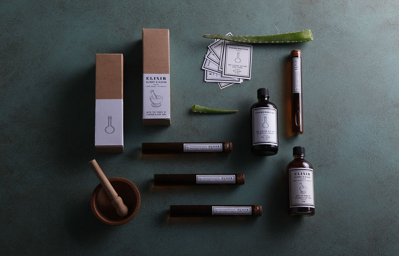 Apothecary Supplements Branding
