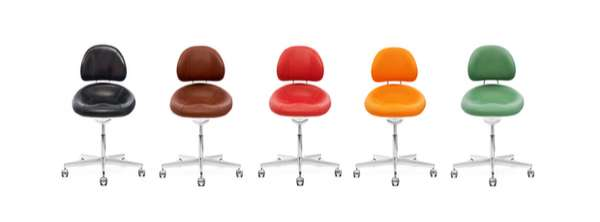 Multicolor Mod-Style Chairs