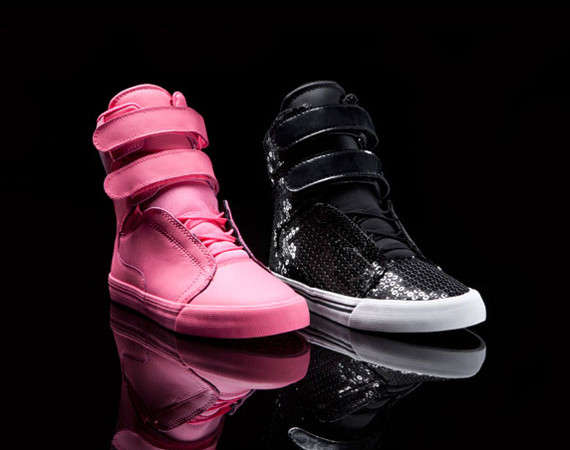 Flirty Sugar Plum Sneakers