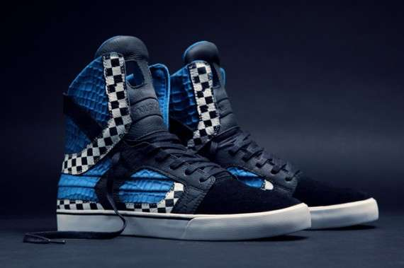 Checkerboard Waffle Sneakers
