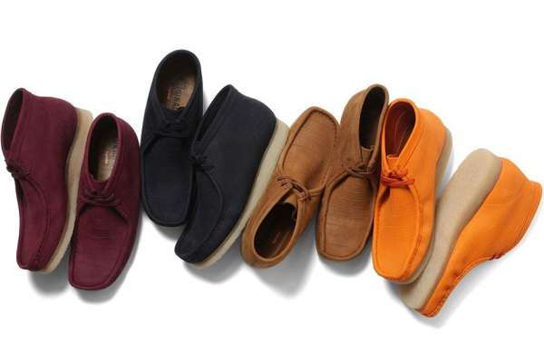 Supreme Clarks Wallabee Boot