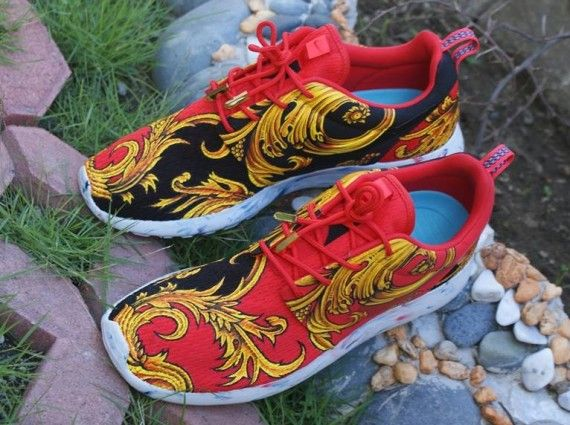 Graphic Baroque Sneakers