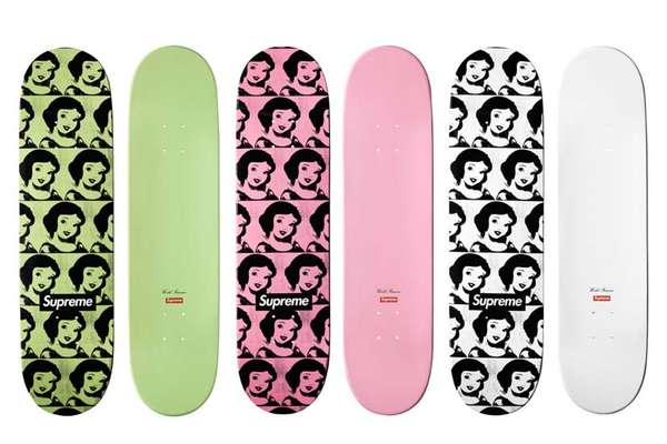 Supreme Snow White Skateboards