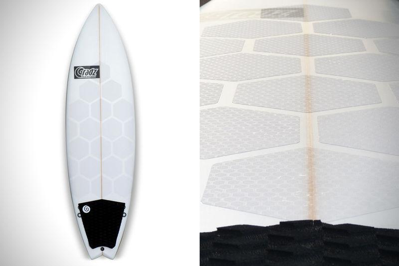 Hexagonal Surfboard Grips Surfboard Grip