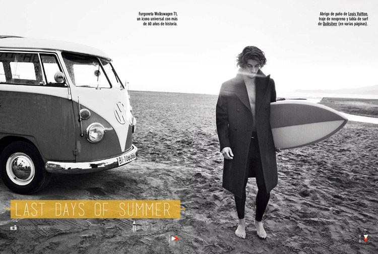 Rugged Surfer Fashion
