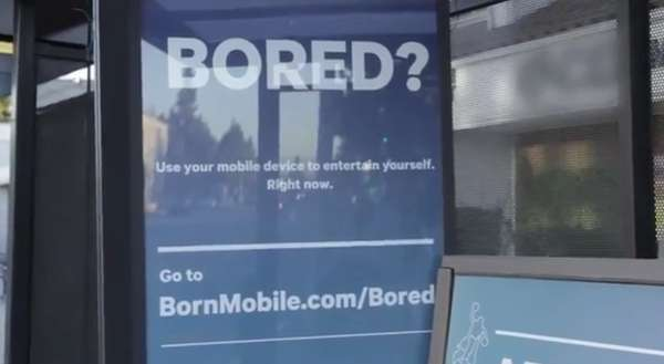 Surprise Bus Stop Ads