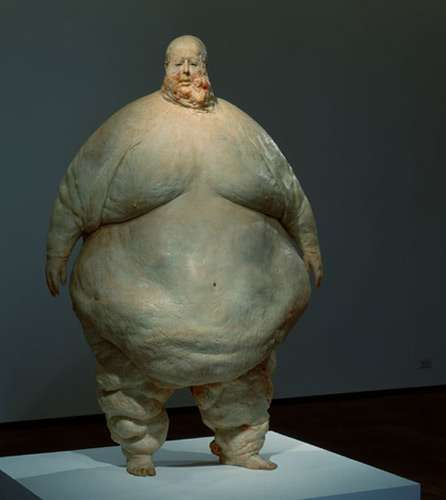 Saggy Skin Sculptures