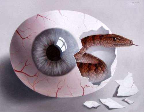Eye-Inspired Surrealism