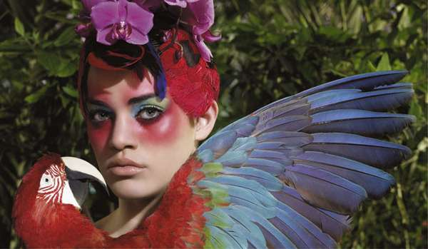 Surrealistic Fashion Birds