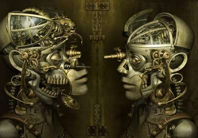 Surrealistic Cyberpunk Portraits