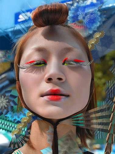 Surrealist Makeup