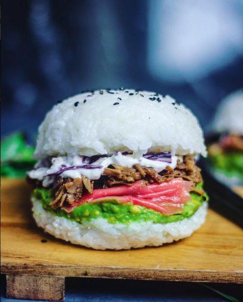 Vegan Sushi Burgers
