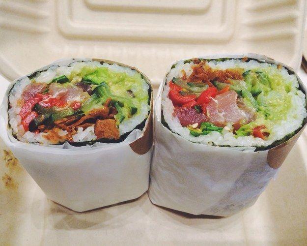 Scrumptious Sushi Burritos
