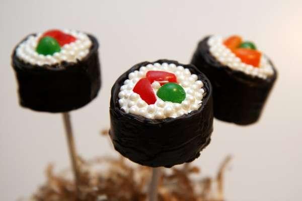 Sweet Maki-Inspired Bites