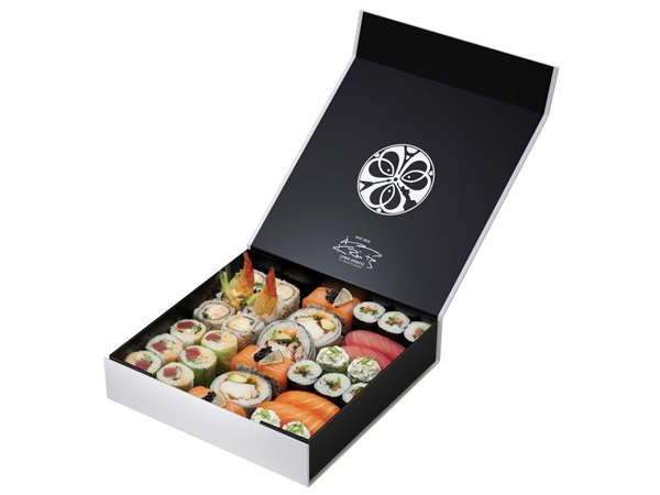 Model-Designed Sushi Boxes