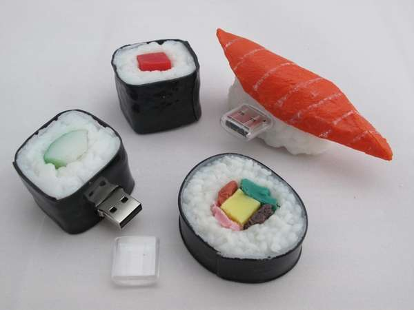 Delectable Sushi Flash Drives