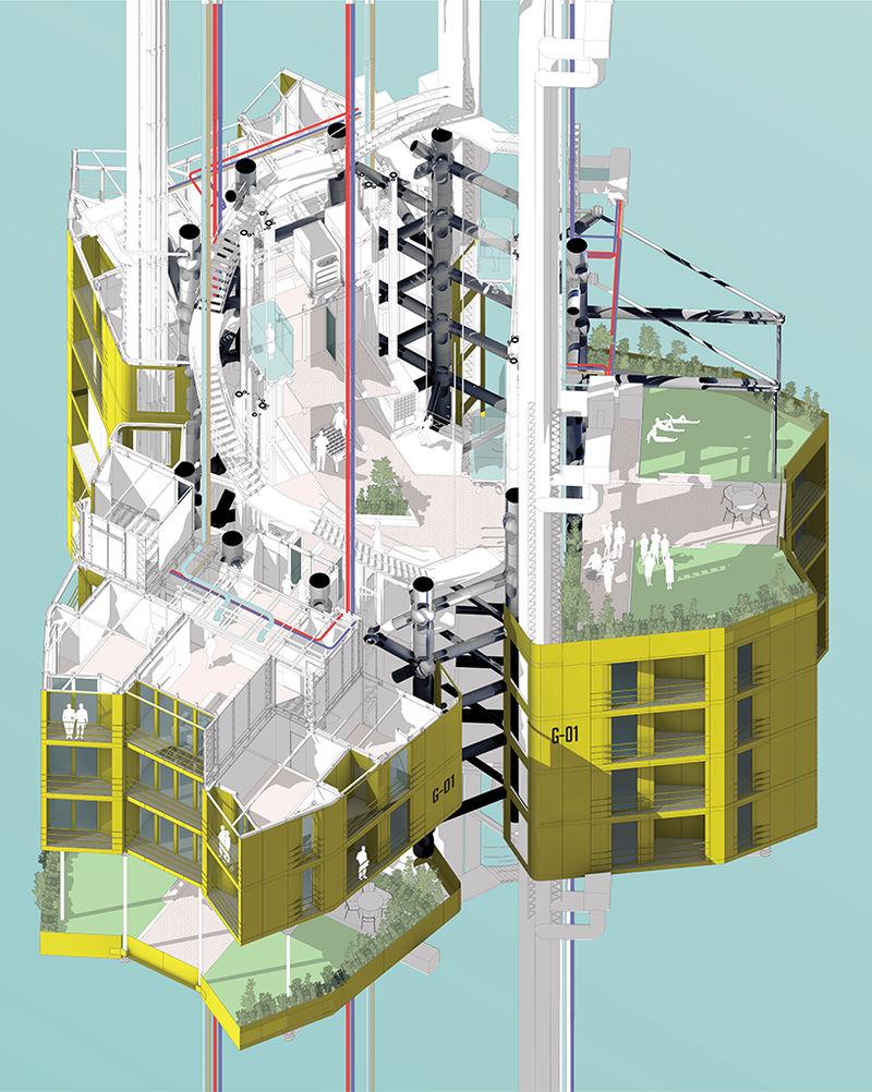 Futuristic Floating Cities