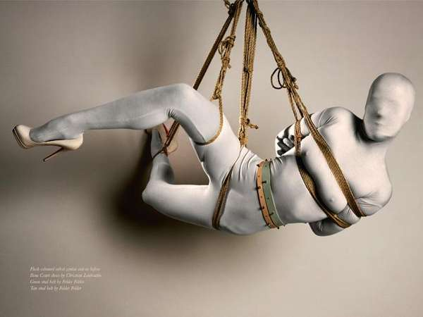 Suspended Fashion Editorials