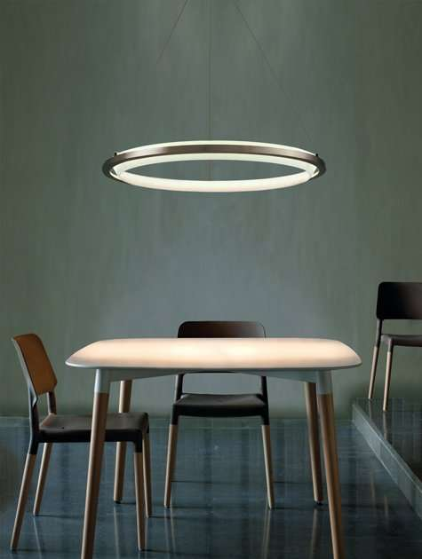 Suspended Halo Lights