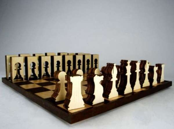 Sustainable Chess Set