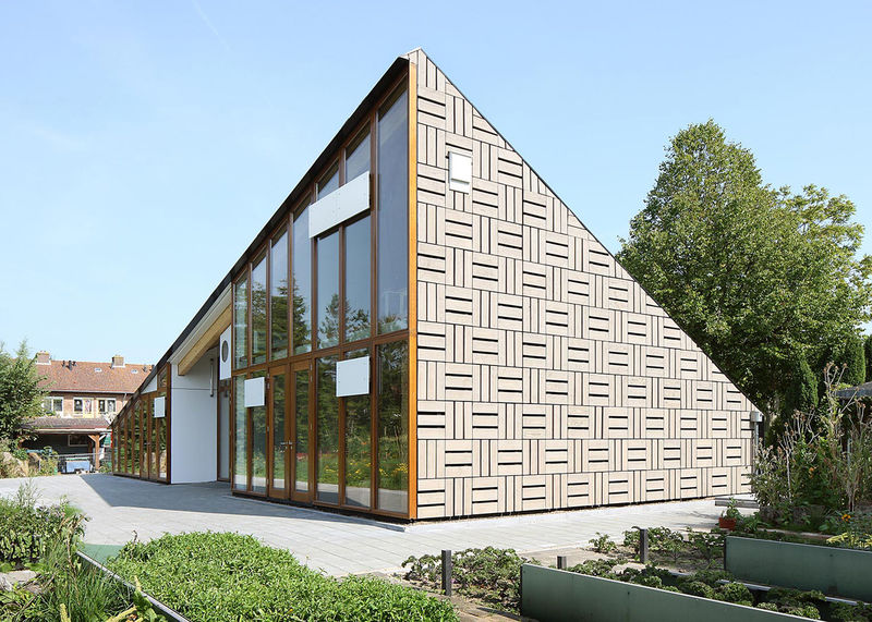 Sustainable Triangular Buildings