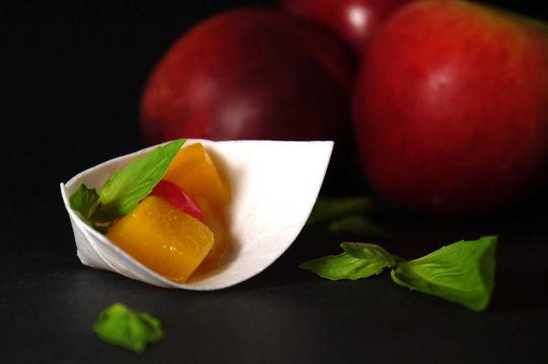 Edible Appetizer Plates