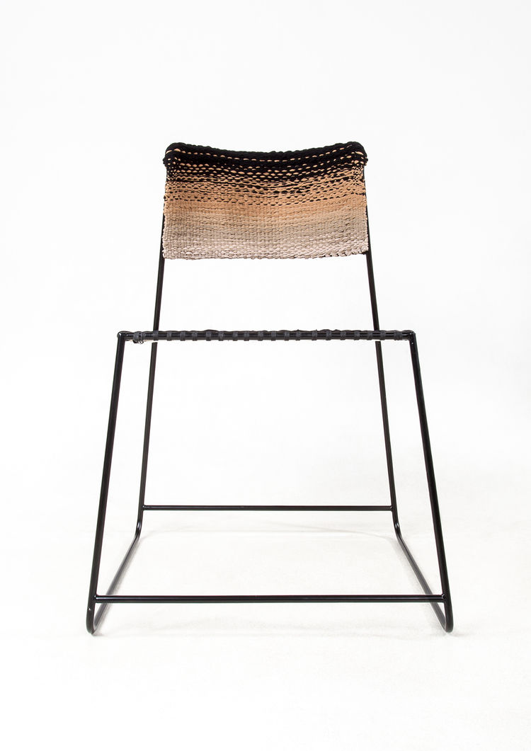 Upcycled Clothing Chairs