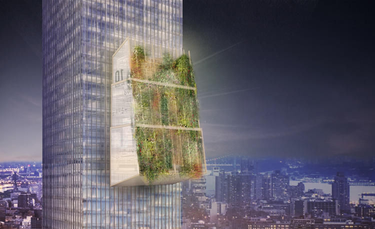 Futuristic Sustainable Offices