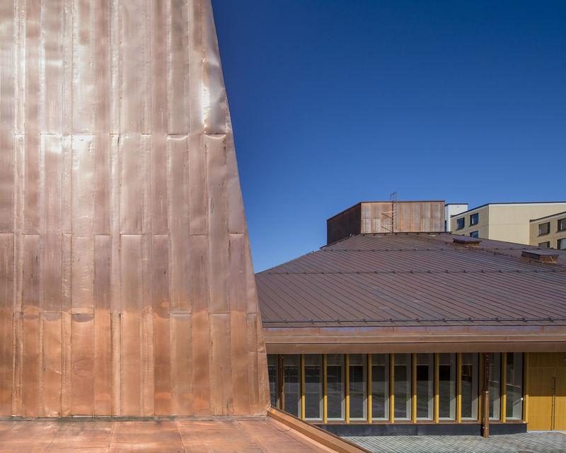 Earthy Copper Chapels