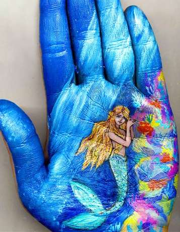Hand-Based Fairytale Paintings