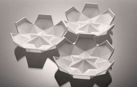 Geometrical Flower Dishware